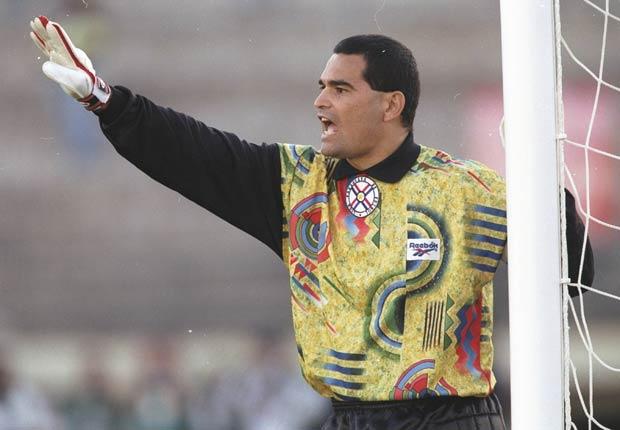 José Luis Chilavert - Grandes jugadores del fútbol mundial