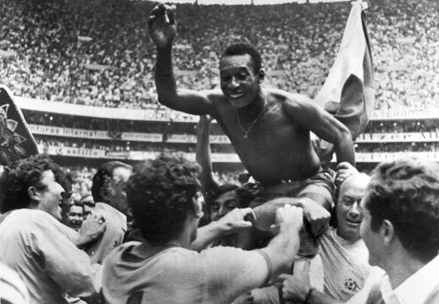 Pelé - Grandes jugadores del fútbol mundial