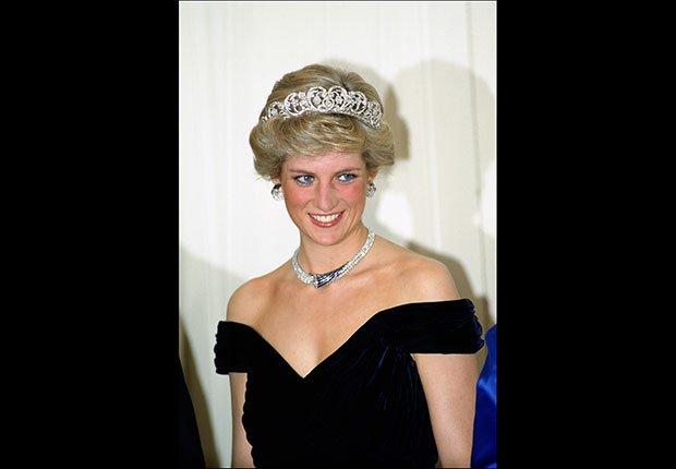 Retrato de la princesa Diana. Este verano 2013, Lady Di sería una abuela de 52 años de edad.