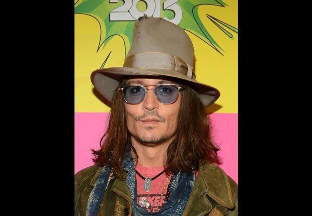 Actor Johnny Depp - Cumple años en junio.