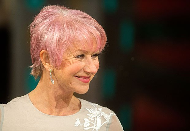 Actress Helen Mirren, No Way They're 60+ Celebrities