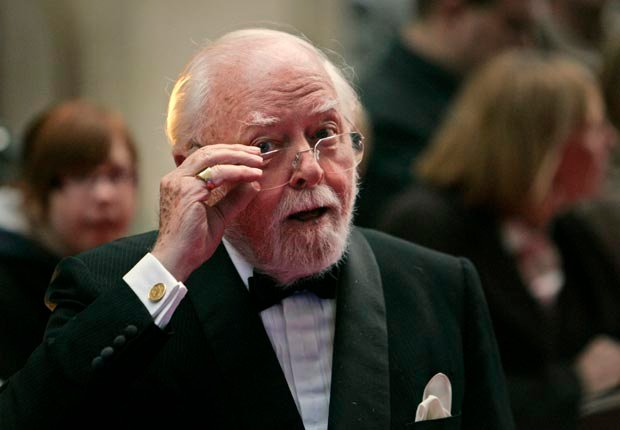 Richard Attenborough turns 90 on August 29. (Lefteris Pitarakis/AP Images)