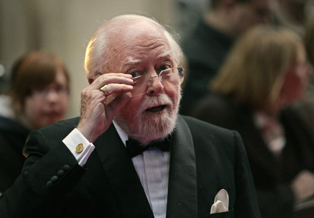 Richard Attenborough turns 90 on August 29. (Lefteris Pitarakis/AP Images)