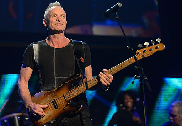 Sting performs, No Way They're 60+ Celebrities