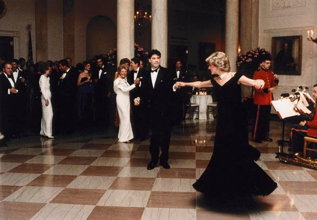 Princes Diana, dances with John Travolta (Pool Photograph/Corbis)