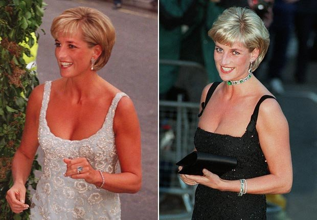 Princes Diana, sparkle fashion (Jacqueline Arzt/AP Photo)