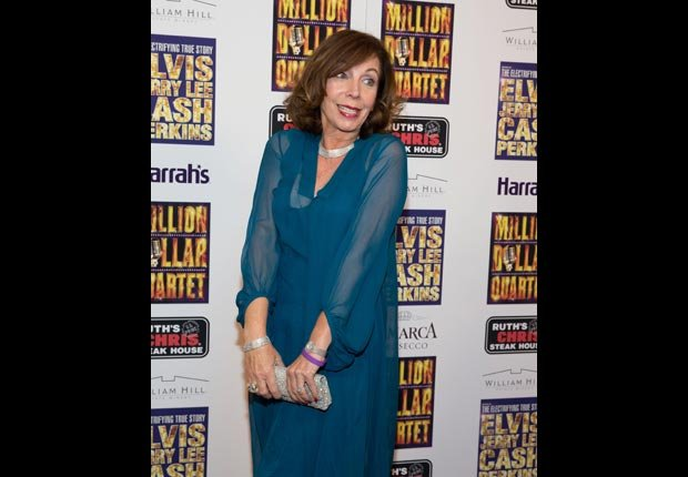 Rita Rudner pictured at Million Dollar Quartet opening night at Harrah's (RD/Kabik/Corbis)