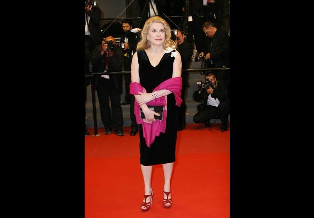 Catherine Deneuve, 70. October milestone birthdays. (Riccardo Cesari/Splash News/Corbis)