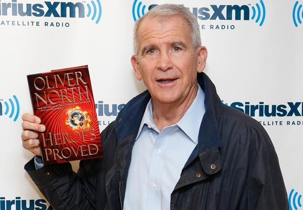 Oliver North, 70. October milestone birthdays. (Cindy Ord/Getty Images)