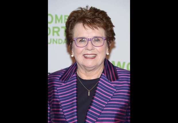 Billie Jean King, 70. (Michael Loccisano/Getty Images)
