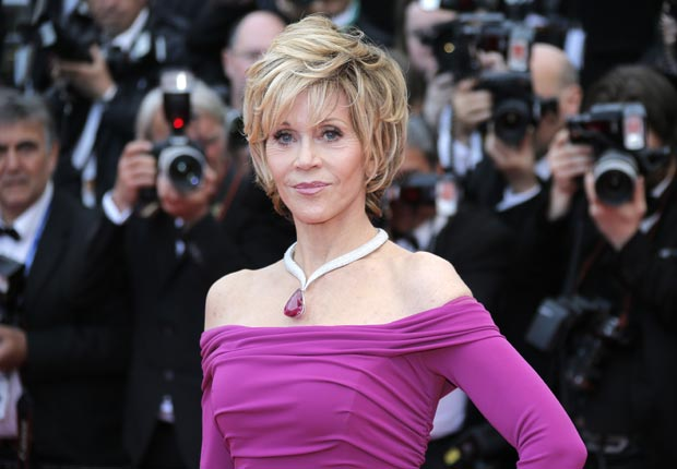 Jane Fonda. No Way They're 70+. (Lionel Cirroneau/AP Images)