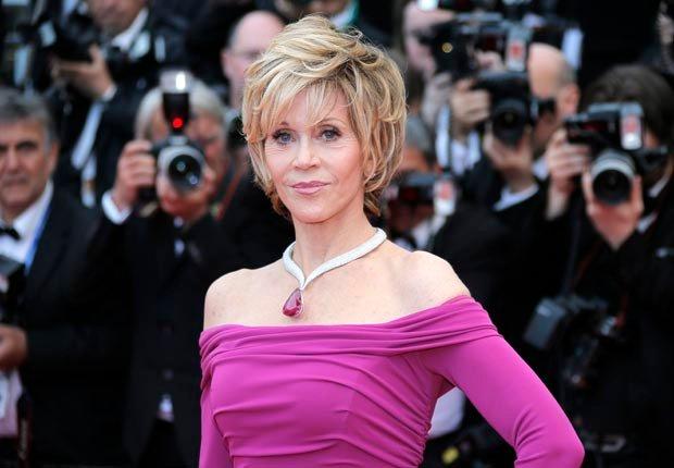 Jane Fonda. No Way They're 70+. (Lionel Cirroneau/AP Images)