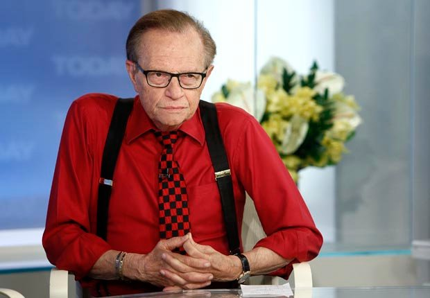 Larry King, 80. (NBC/Getty Images)