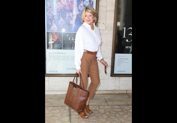 Martha Stewart. No Way They're 70+. (Splash News/Corbis)