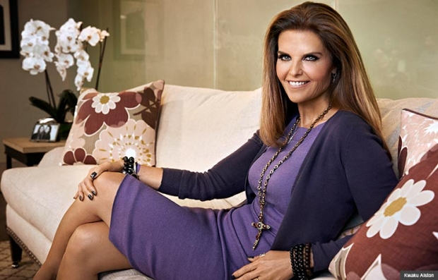 Maria Shriver photographed at her offices in Brentwood, Ca on September 17, 2013 (Kwaku Alston)