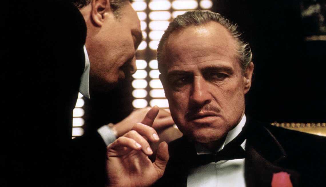 Movie Clip From The Godfather, Actor Marlon Brando, AARP Entertainment, Essential Boomer Movies