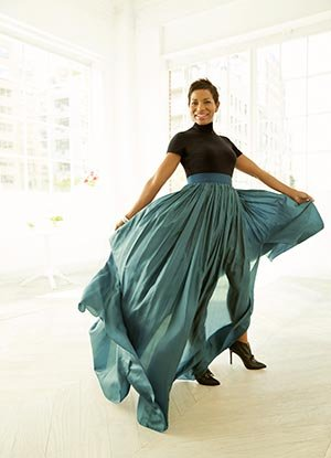 Kim poses for Ari Michelson, aarp (Ari Michelson)