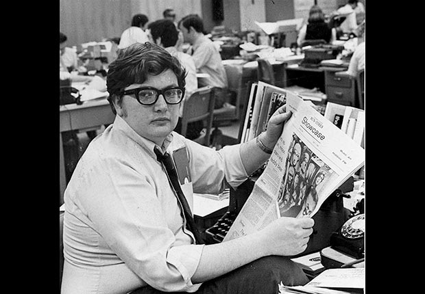 Roger Ebert, Honoring the actors and authors who passed away in 2013 (ASSOCIATED PRESS)