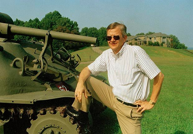 Tom Clancy, Honoring the actors and authors who passed away in 2013 (Carlos Osorio/AP Images)
