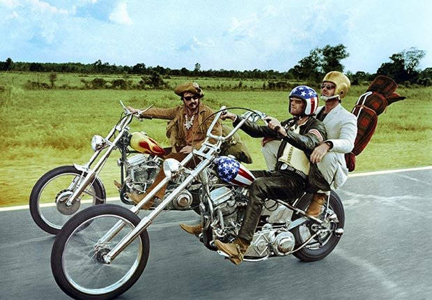 best movies all time comedy action scary boomer essential films top ten graduate easy rider clockwork orange godfather jaws presidents men annie hall apocalypse now kramer vs reds beatty hoffman woody meryl peter fonda (AF archive / Alamy)