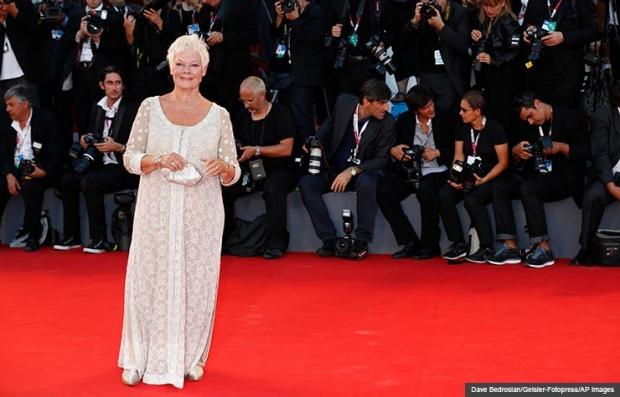 Judi Dench en la premiere de la película the Philomena