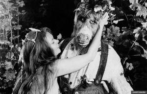 Judi Dench en la película A Midsummer Night's Dream, 1968.