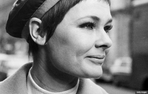 Portrait of Judi Dench, 1968. (Getty Images)