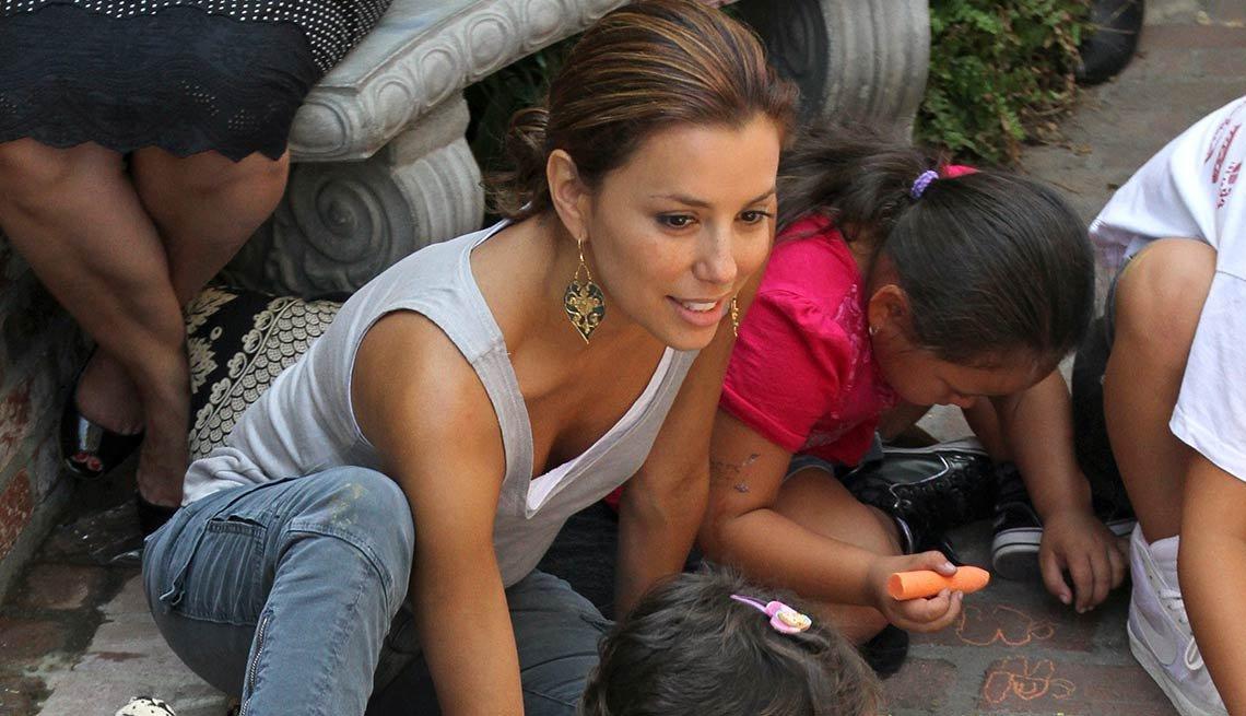 Eva Longoria - Famosos y humanitarios
