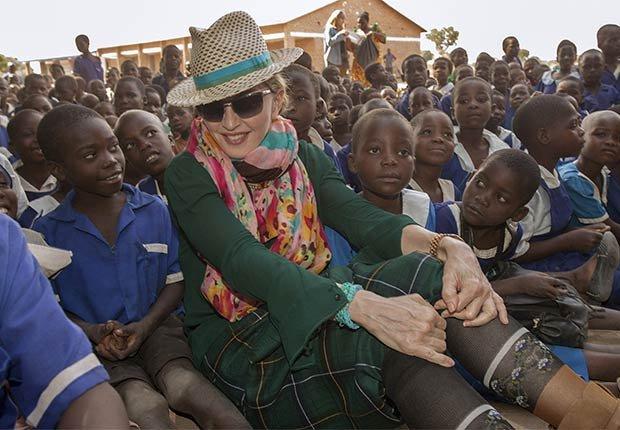 Madonna - Famosos y humanitarios