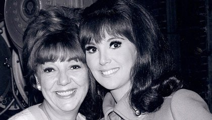 Marlo Thomas smiles in a vintage portrait with her mother