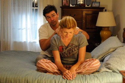 Eric and Tami Taylor from a scene of Friday Night Lights on NBC