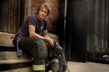 Denis Leary in a scene from Rescue Me on FX
