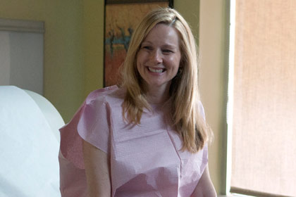 Laura Linney stars in The Big C on Showtime.