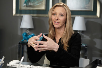 Lisa Kudrow stars as a psychotherapist on Web Therapy, a new television series on Showtime