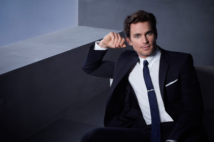 Matt Bomer as Neal Caffrey in White Collar on USA Network