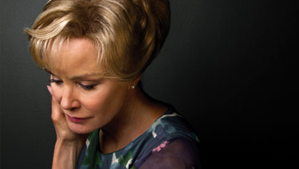 Faces of Fall tv season, Jessica Lange,  American Horror Story