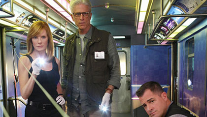 Faces of Fall tv season,  Ted Danson, CSI