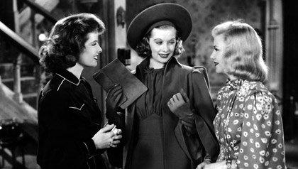 Lucille Ball protaginiza con Katharine Hepburn y Ginger Rogers en Stage Door, 1937