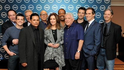 "The cast and director of TNT's ""Major Crimes"""