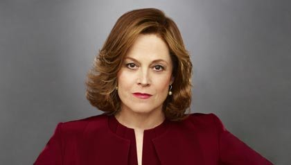 Sigourney Weaver as Elaine Barrish in USA's