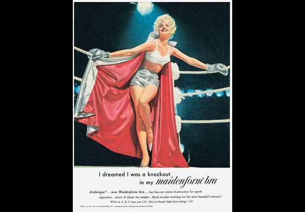 A Maidenform ad from the Mad Men era for the Real Ads from the Real Mad Men slideshow.