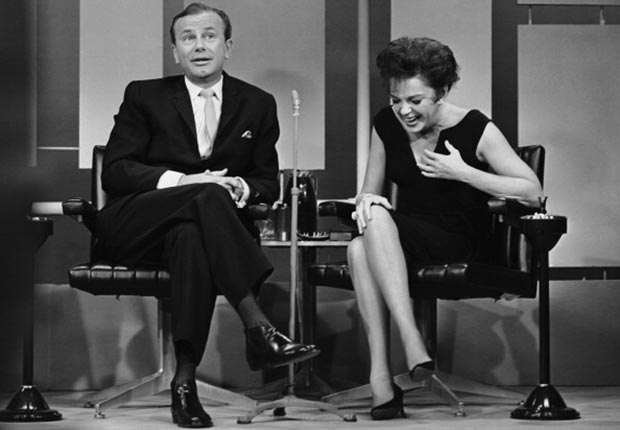 Jack Paar and Judy Garland