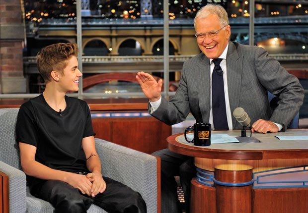 Justin B Letterman show