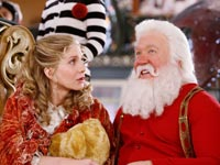 THE SANTA CLAUSE 3: THE ESCAPE CLAUSE, Elizabeth Mitchell as Mrs. Claus, Tim Allen as Santa Claus,