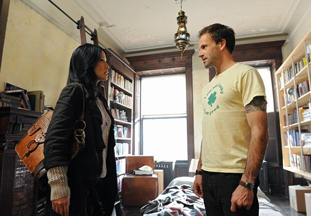 Lucy Liu and Jonny Lee Miller in Elementary, Fall TV for Grownups