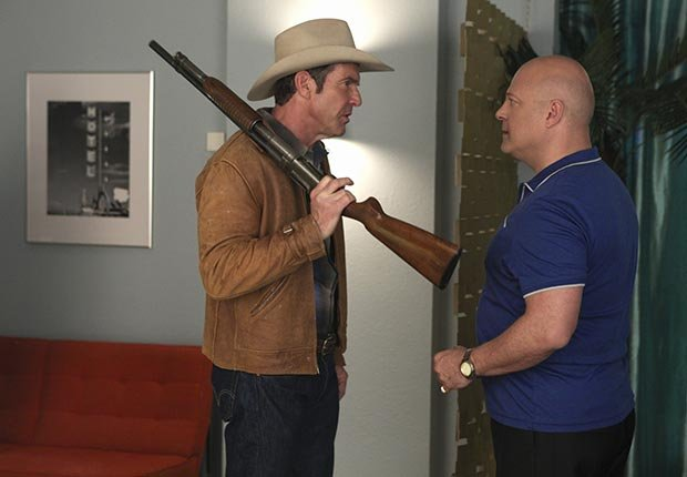 Dennis Quaid and Michael Chiklis in Vegas, Fall TV for Grownups