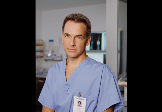 Mark Harmon starred as Dr. Jack McNeil on 'Chicago Hope', a medical drama show based in Chicago in 1996. For Mark Harmon Through the Years slideshow.