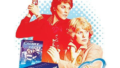 Hit TV show and police drama Cagney and Lacey now on DVD