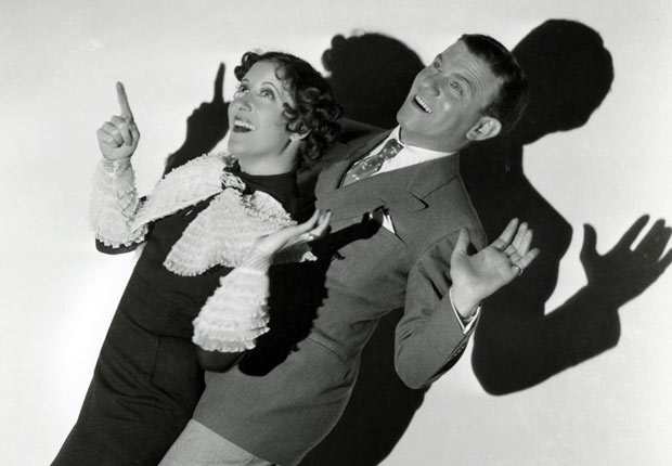 Comedy duo Gracie Allen & George Burns.  For the Best Comedy Shows slide show.