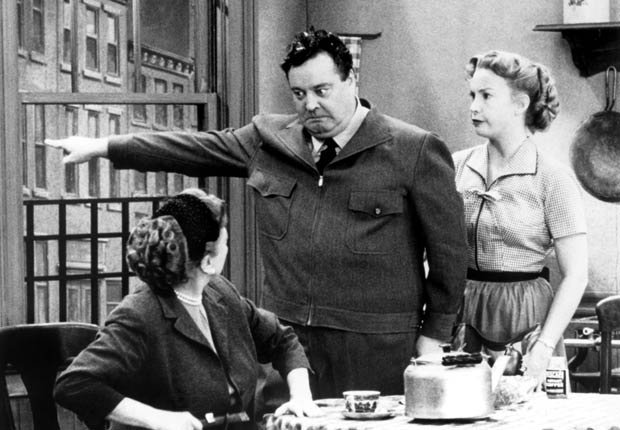 A scene from The Honeymooners. For the Best Comedy Shows slide show.
